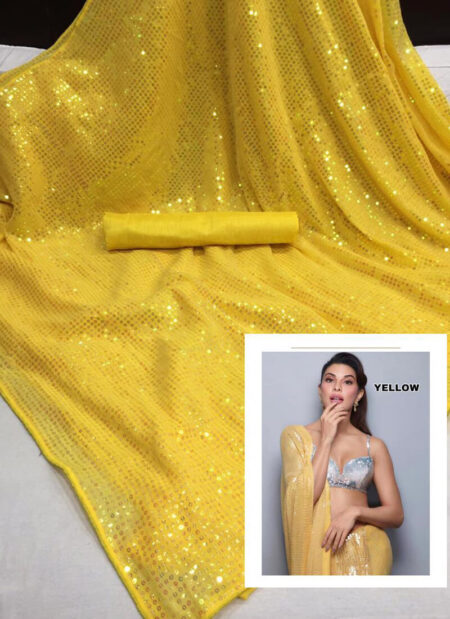 Bollywood inspired Sequins work sarees